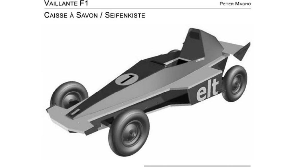 Vaillante F1 Seifenkiste / Caisse à savon