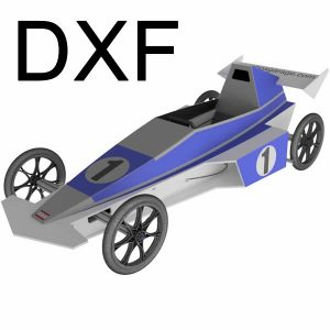 Seifenkiste - DXF Vaillante F1 EVO - Soapbox DXF Download [Digital] [Digital]