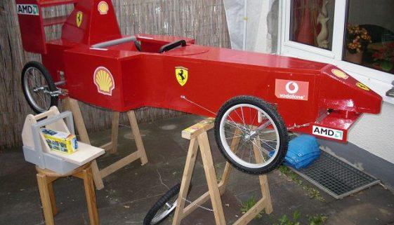 Ferrari Seifenkiste