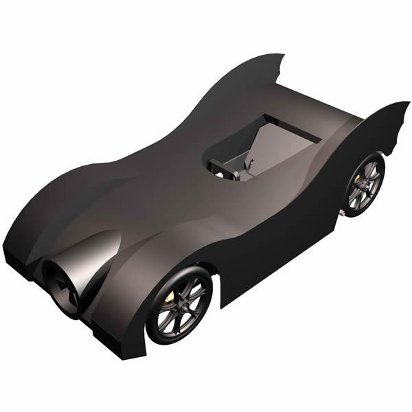 Batmobil als Seifenkiste
