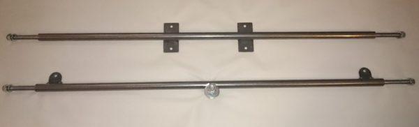 Vorder- und Hinterachse Stahl