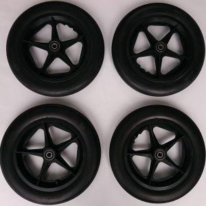 Seifenkiste - 4 x 12 Zoll Kunststoff Rad unkaputtbar - Soapbox