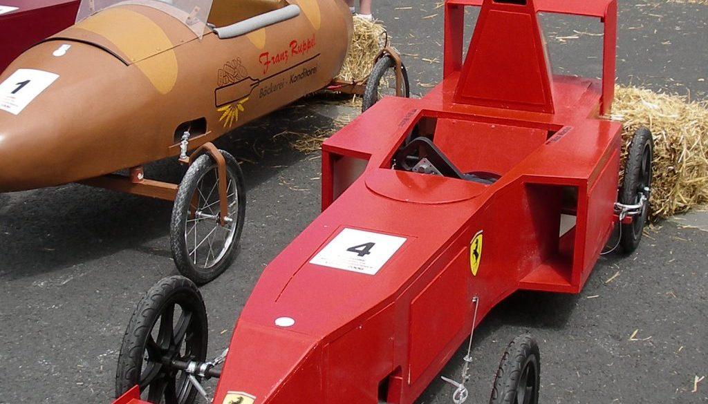 Ferrari im Fahrerlager 1