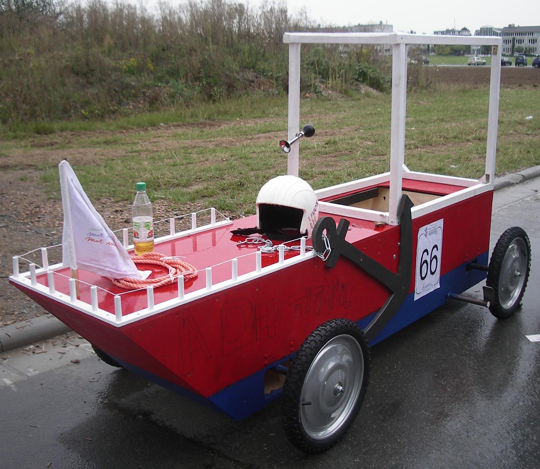 Orscheler Kist als Boot