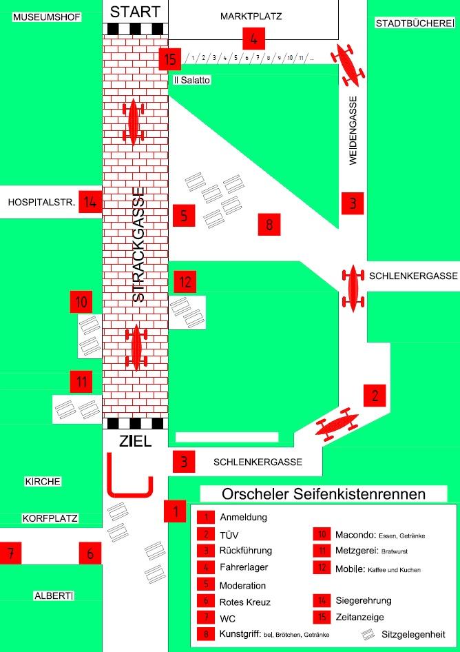 Lageplan Strackgasse 1