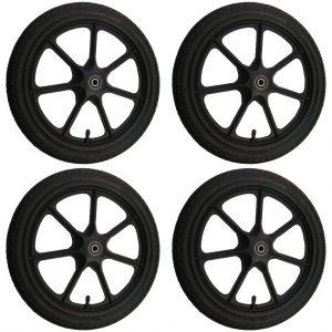 """Seifenkiste - 4 x 16 Zoll Kunststoff Rad - Soapbox - Plastic Wheel 16"""""""