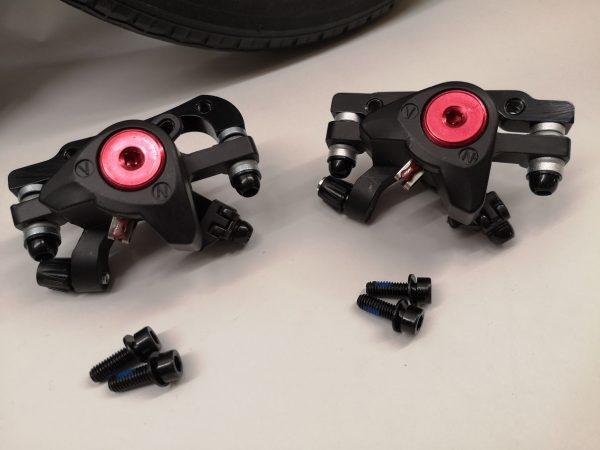 Set Räder mit Scheibenbremse